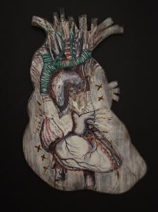 Heart, Mixed Media, 2015