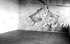 Mural at MFA show